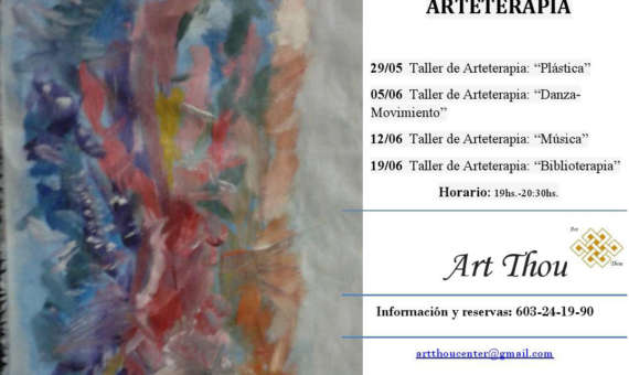 Talleres grupales de Arte Terapia